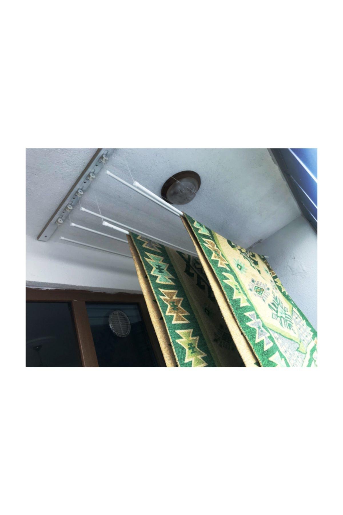 LYRA Asansörlü Çamaşırlık 6 Çubuklu 140 Cm 2