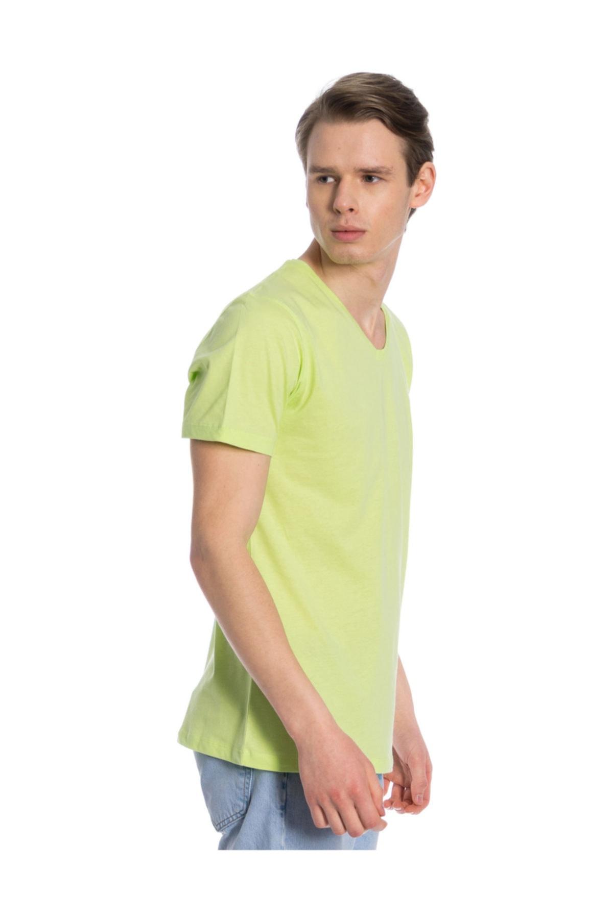 Slazenger SARGON Yeşil Erkek Kısa Kol Tişört 100788303 1