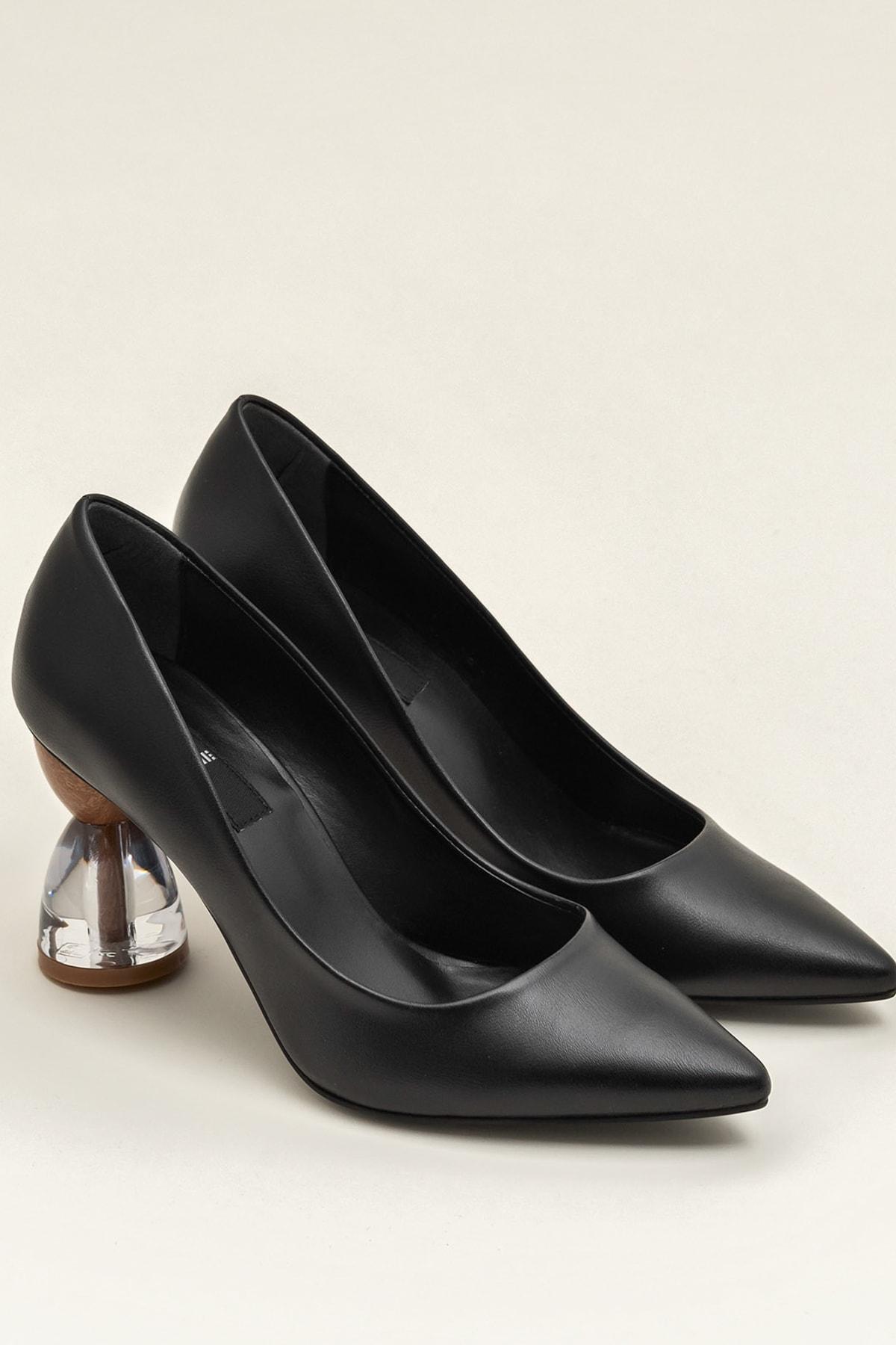Elle Shoes ALIVIE-1 Siyah Kadın Ayakkabı 2