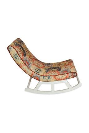 Asedia Teksas Miskin Lake Beyaz-çiçekli Sallanan Sandalye