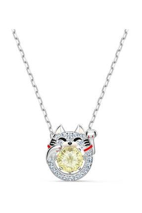 Swarovski Kolye Sparkling Dc-necklace Cat Cecy-cry-rhs 5515438