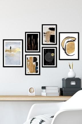 Bc Home 6 Parça Çerçeveli Poster Tablo Seti