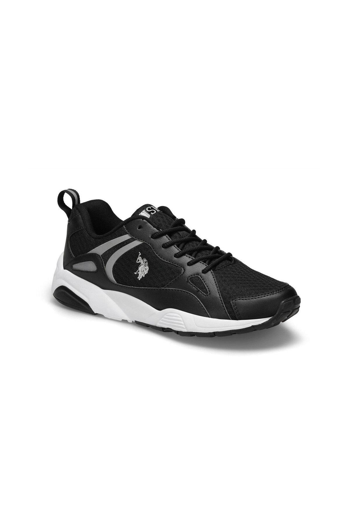 U.S. Polo Assn. BERLINGO Siyah Erkek Sneaker Ayakkabı 100489325 1