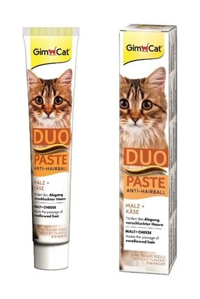 Gimcat Anti Hairball Duo Paste Malt Cheese 50 gr