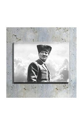 mağazacım Atatürk Portre 50 Cm X 70 Cm Kanvas Tablo Tbl1225