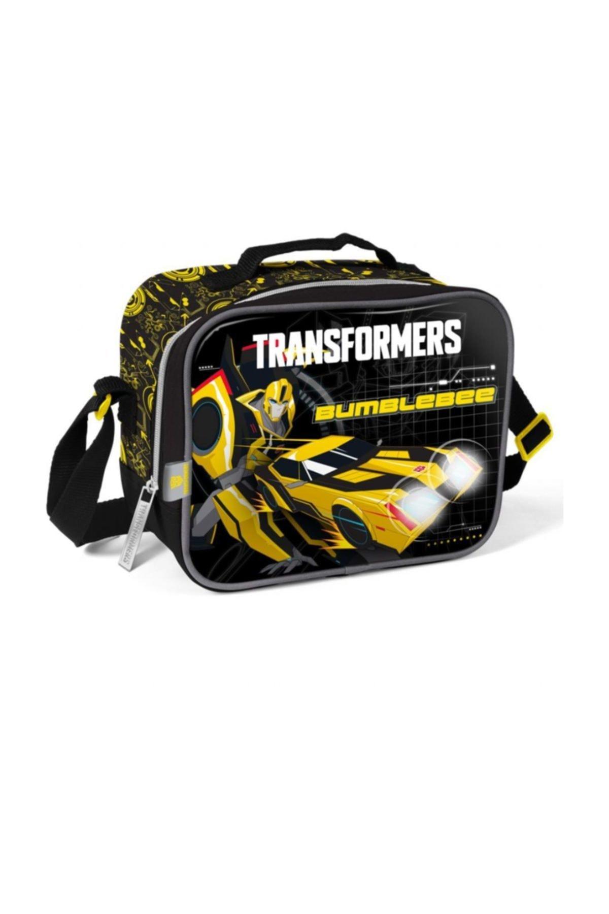 Yaygan Çanta Transformers Bumblebee Kabrtmalı Beslenme Çantası 1