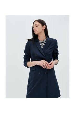 Kayra Basic Blazer Ceket Lacivert Sz 13501