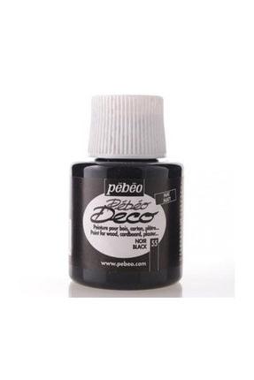 Pebeo Deco 205/55 Mat Noir Ahşap Boyası 110 Ml.