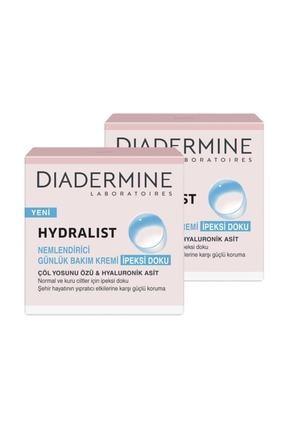 Diadermine Hydralist İpeksi Doku Nemlendirici Krem 2'li 50 ml