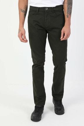 Colin's Düz Paça Normal Bel Yeşil Chino Erkek Pantolon CL1046454