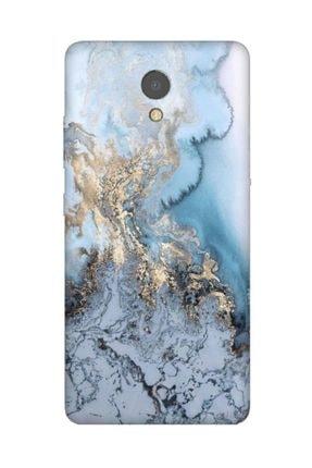 Cekuonline Lenovo P2 Kılıf Desenli Resimli Hd Silikon Telefon Kabı Kapak - Antic Marble