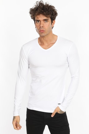 Fabregas Beyaz Erkek Body