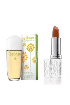 Elizabeth Arden Sunflowers Morning Garden Edt 100 ml Kadın Parfüm+Stick 3.7 gr Honey 558956116469