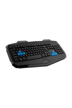 Everest Rampage Km-R10 Siyah Usb 3 Farklı Ledli Gaming Q Multimedia Klavye + Mouse Set