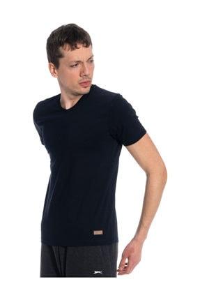 Slazenger CASPER Lacivert Erkek Kısa Kol Tişört 100788305
