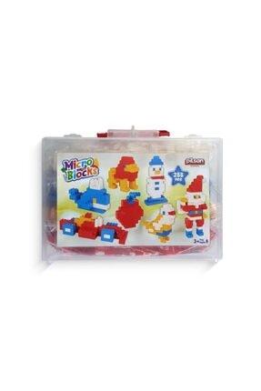 PİLSAN Micro Blocks Çantalı Lego 288 Parça -