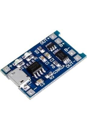 Arduino Tp4056 Korumalı Şarj Modülü Lityum Pil Şarj Devresi