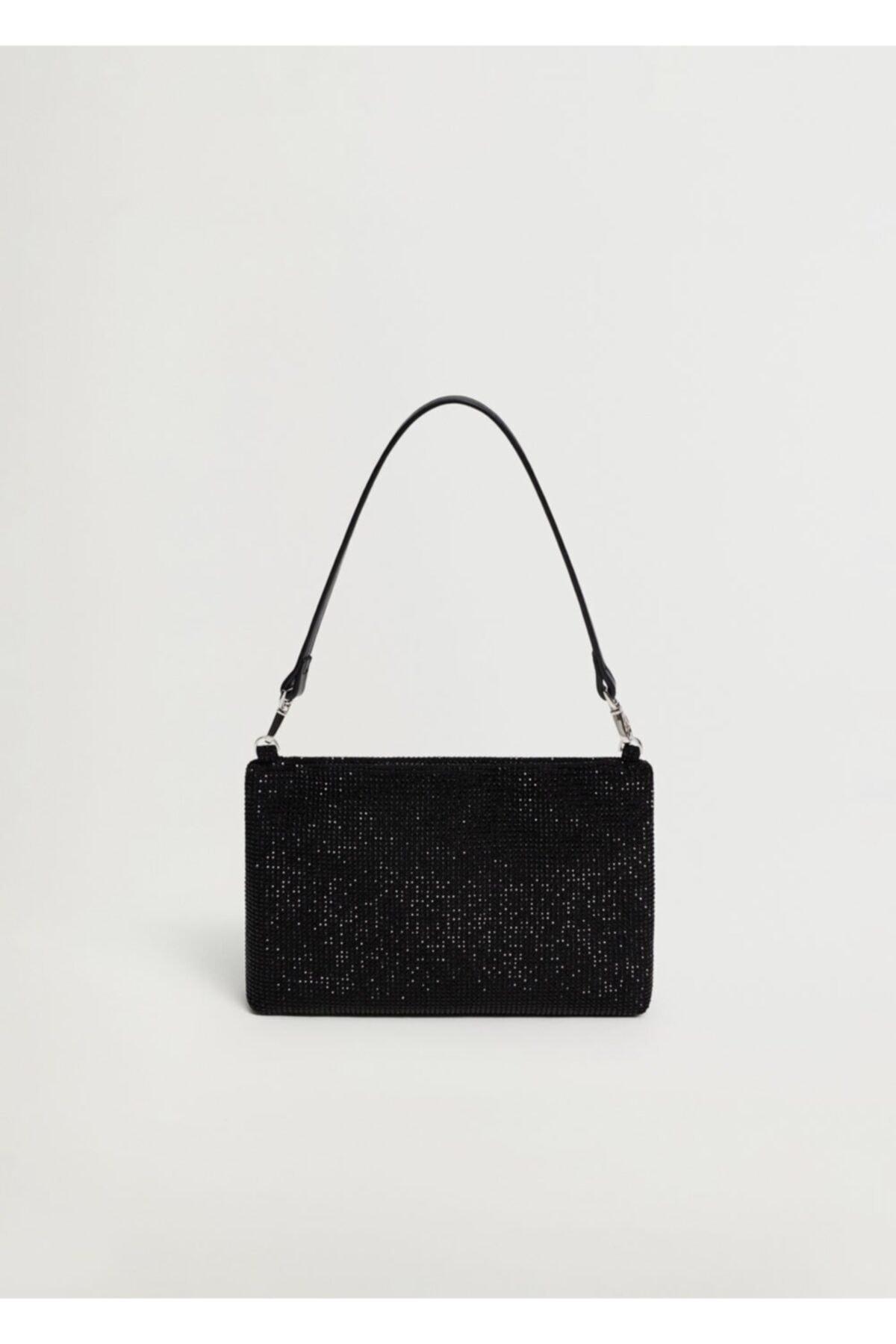 MANGO Woman Kadın Siyah Çanta 2