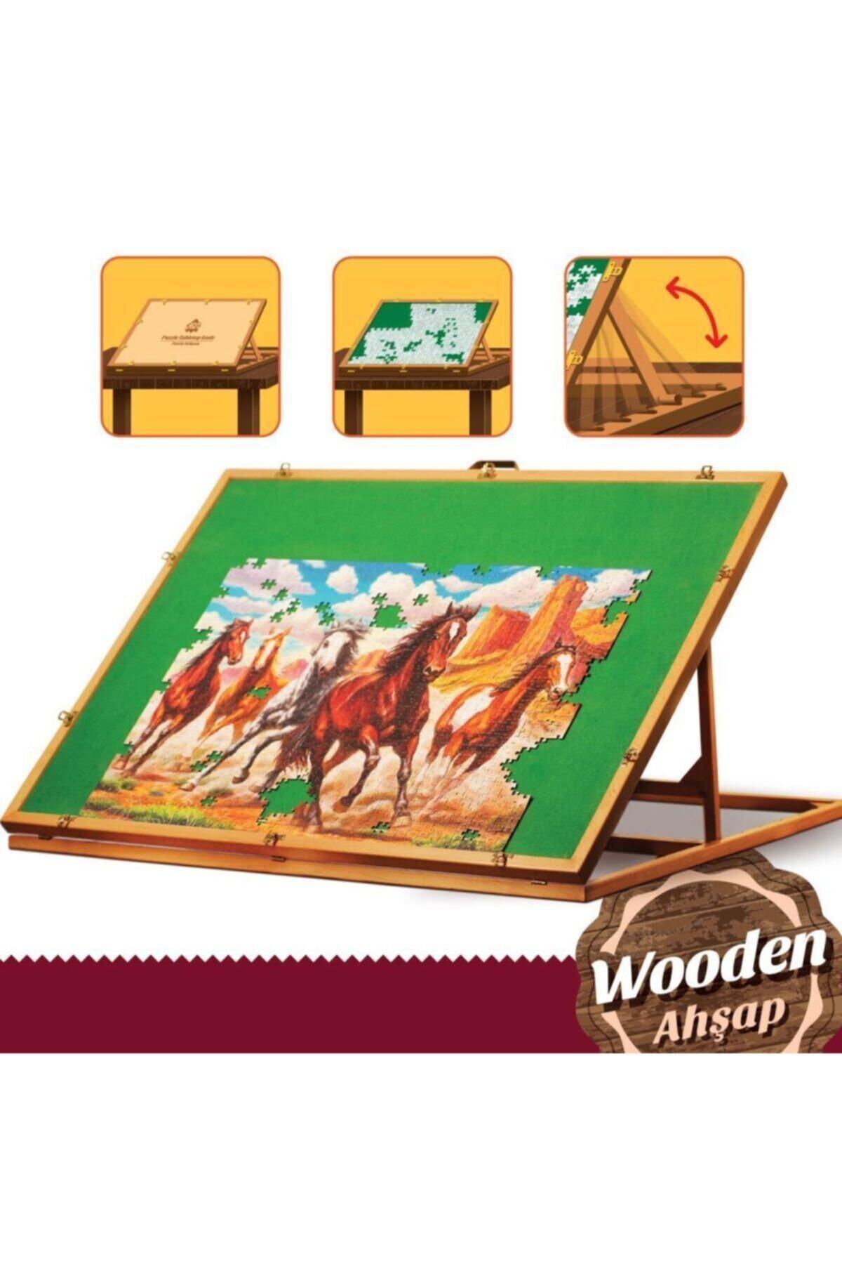 Art Puzzle Puzzle Sehpası (ahşap) 1