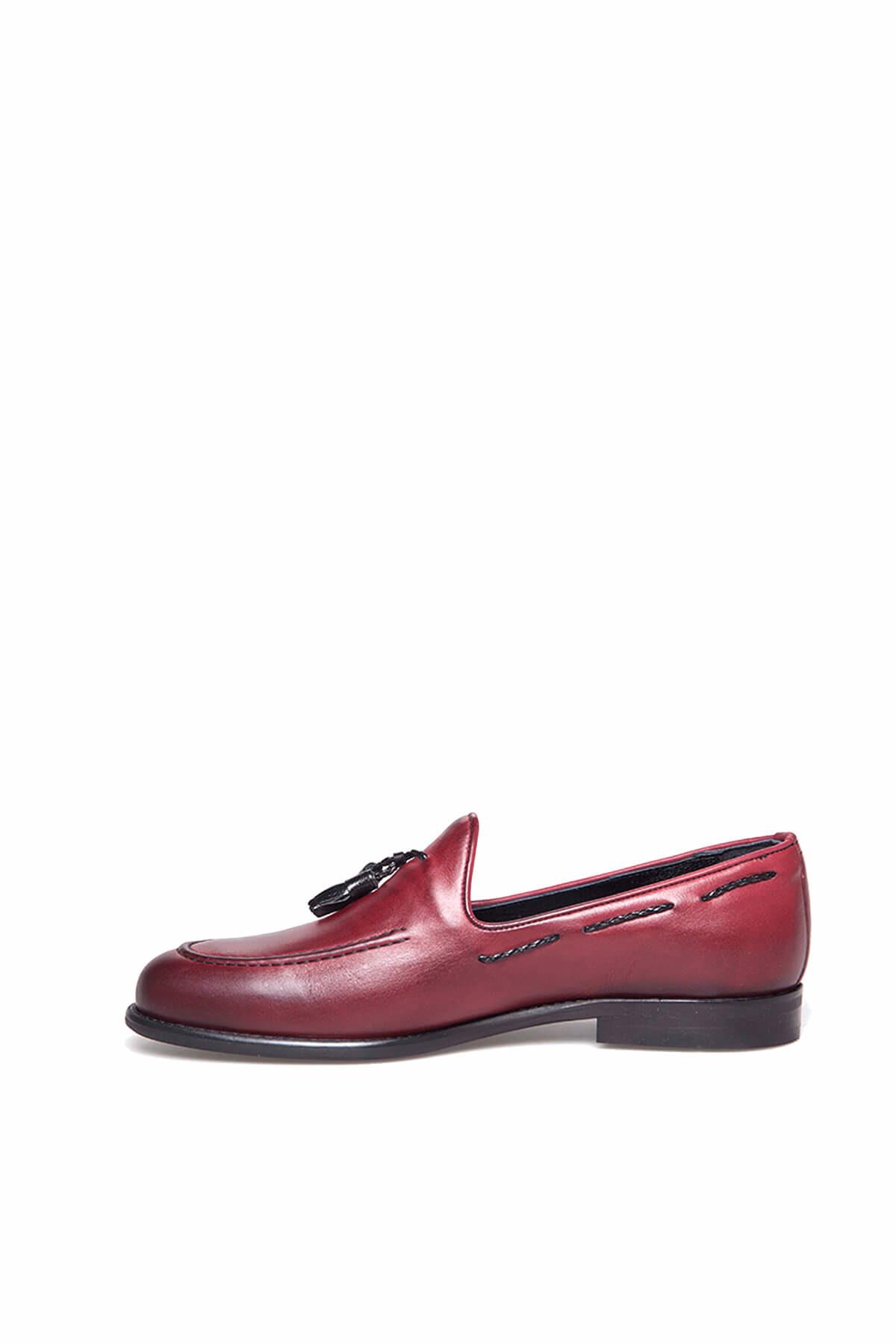 TETRİ Bordo Erkek Ayakkabı 3S811886120 2