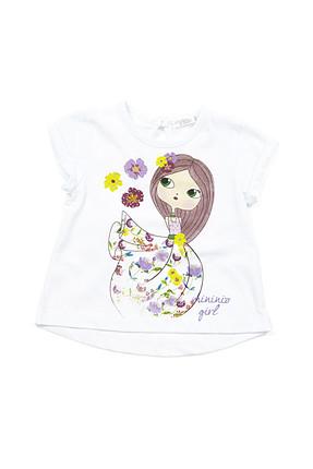 Zeyland Beyaz Kız Bebek T-Shirt K-61M2LIU53