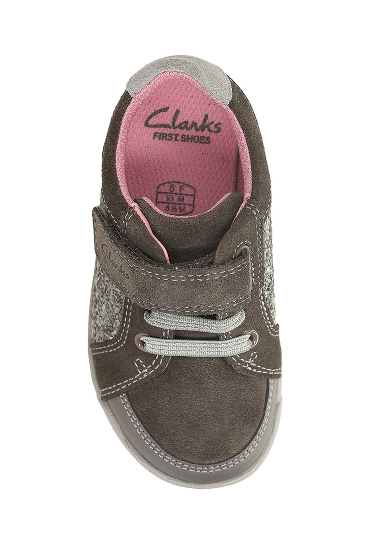 CLARKS Hakiki Deri Çocuk Ayakkabı 261102548 2