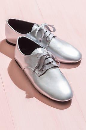 Elle Shoes AVENAL Gümüş Kadın Ayakkabı