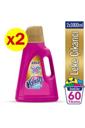 Vanish Kosla Oxi Action Gold Sıvı Leke Çıkarıcı 3000 ml x 2 Adet