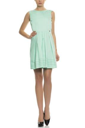 GIZIA CASUAL Kadın Mint Mini Elbise M15YES0791C7E