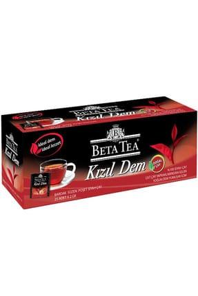 Beta Tea Kızıl Dem Türk Çayı Bardak Poşet 25x2 gr