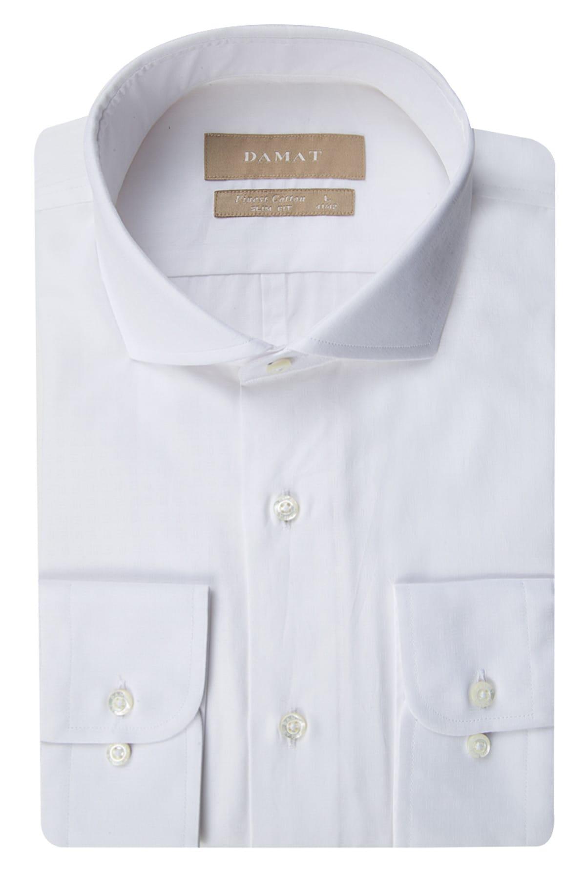 Damat Erkek  Beyaz Gömlek 2DF02SG81258_801 1