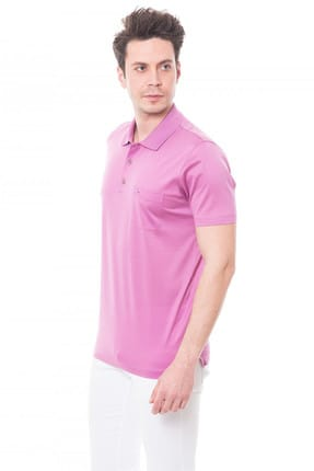 Karaca Erkek Regular Fit Süprem T Shirt   Pembe