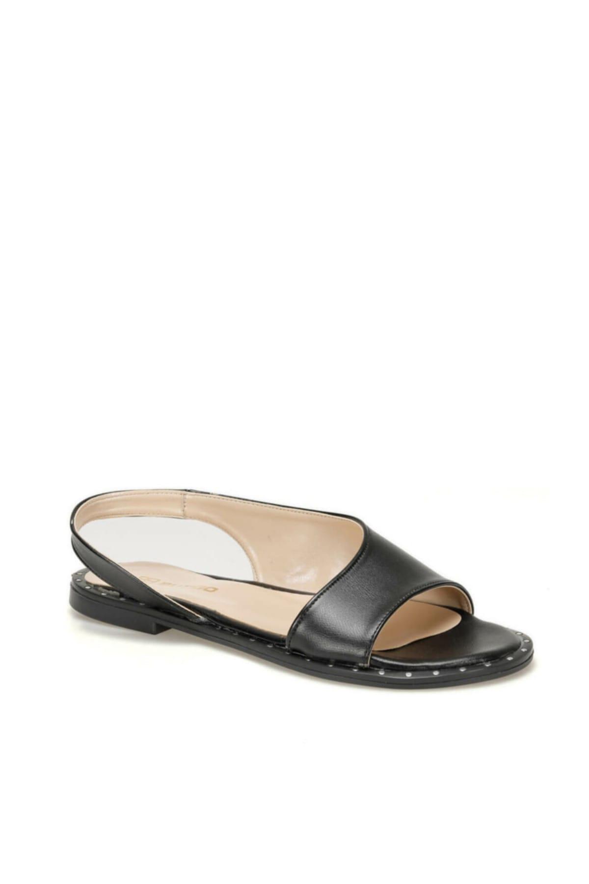 Butigo 19SF-160685Z CİLT Siyah Kadın Sandalet 100479924 1
