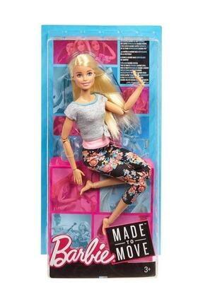 Barbie Sonsuz Hareket Bebeği Ftg81