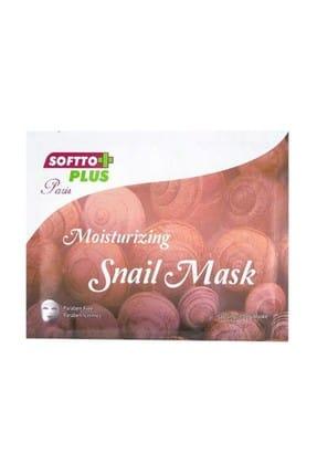 Softo Plus Salyangoz Özlü Maske Softto Plus