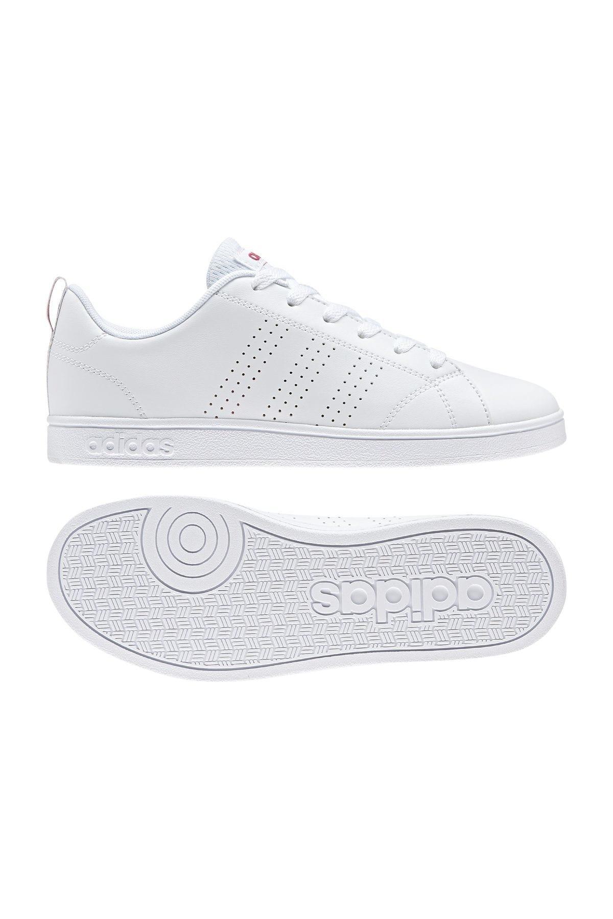 adidas VS Advantage Clean Beyaz Mercan Kız Çocuk Sneaker 100323765 1