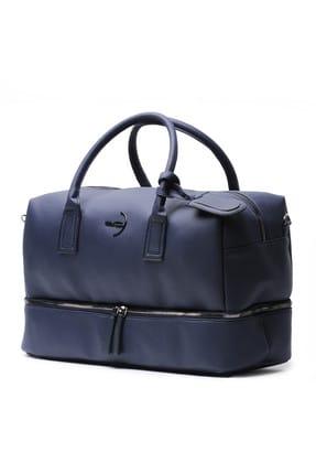 Deri Company Dark Blue Seyahat Çantası (7019 L)