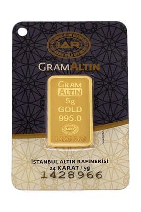 Tuğrul Kuyumculuk 5 Gram Külçe Gram Altın 24 Ayar K000002