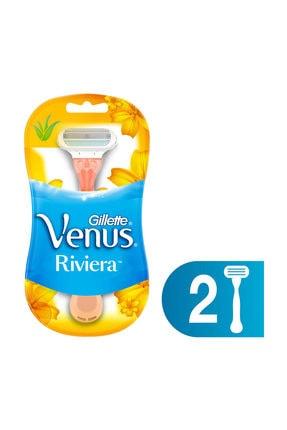 Gillette Venus Venus Riviera Kullan At Kadın Tıraş Bıçağı 2'li