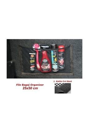 Genel Fileli Bagaj Düzenleyici Cepli Organizer 25x50cm