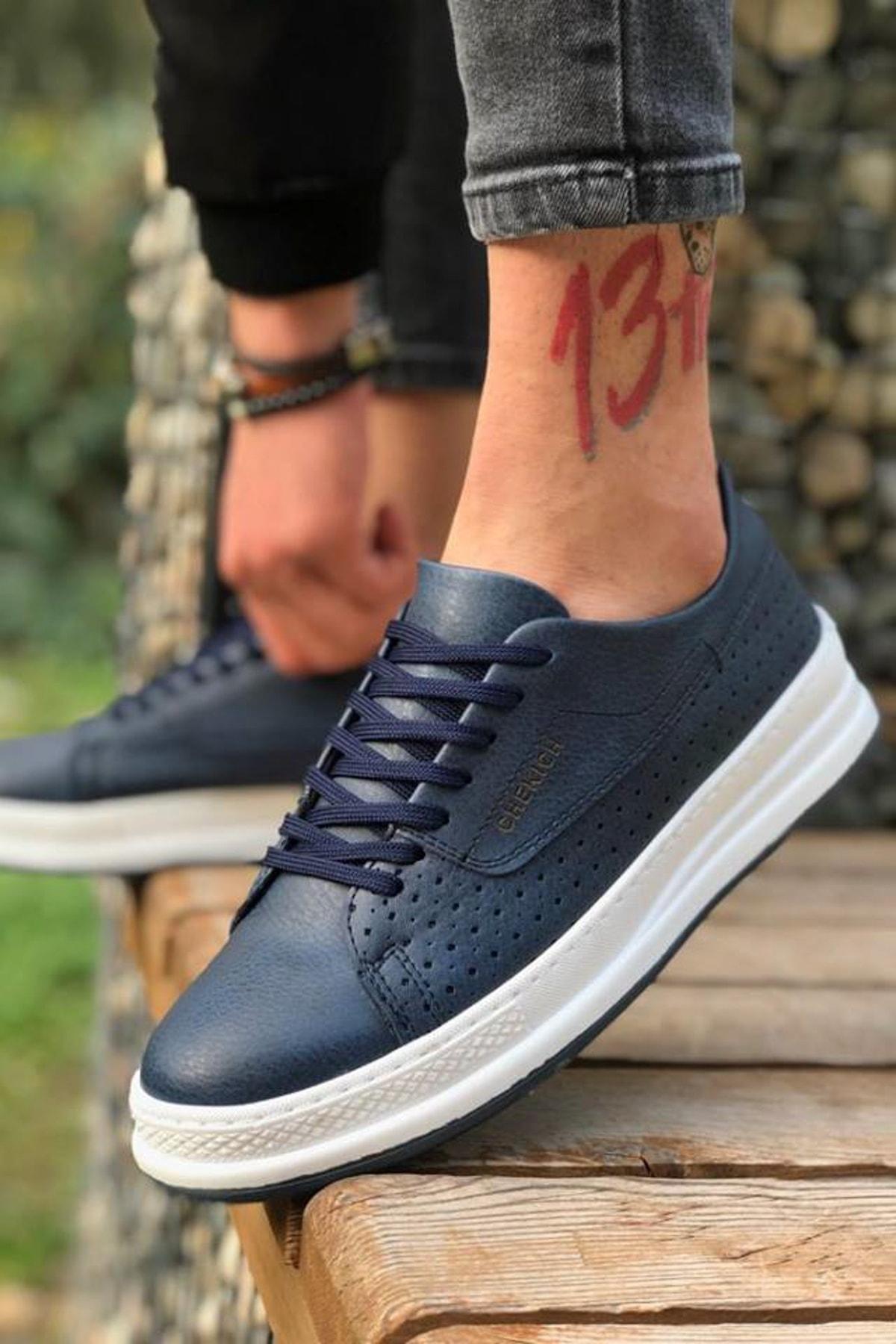 Chekich Lacivert Erkek Sneaker CH043 1
