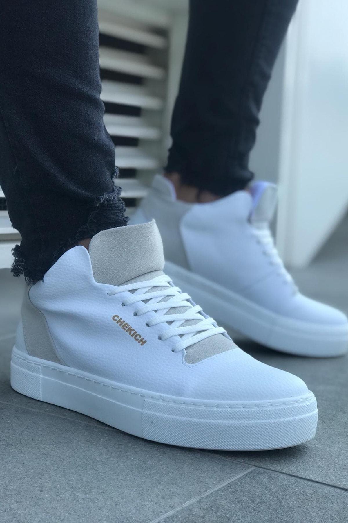 Chekich Beyaz Erkek Sneaker CH004 1