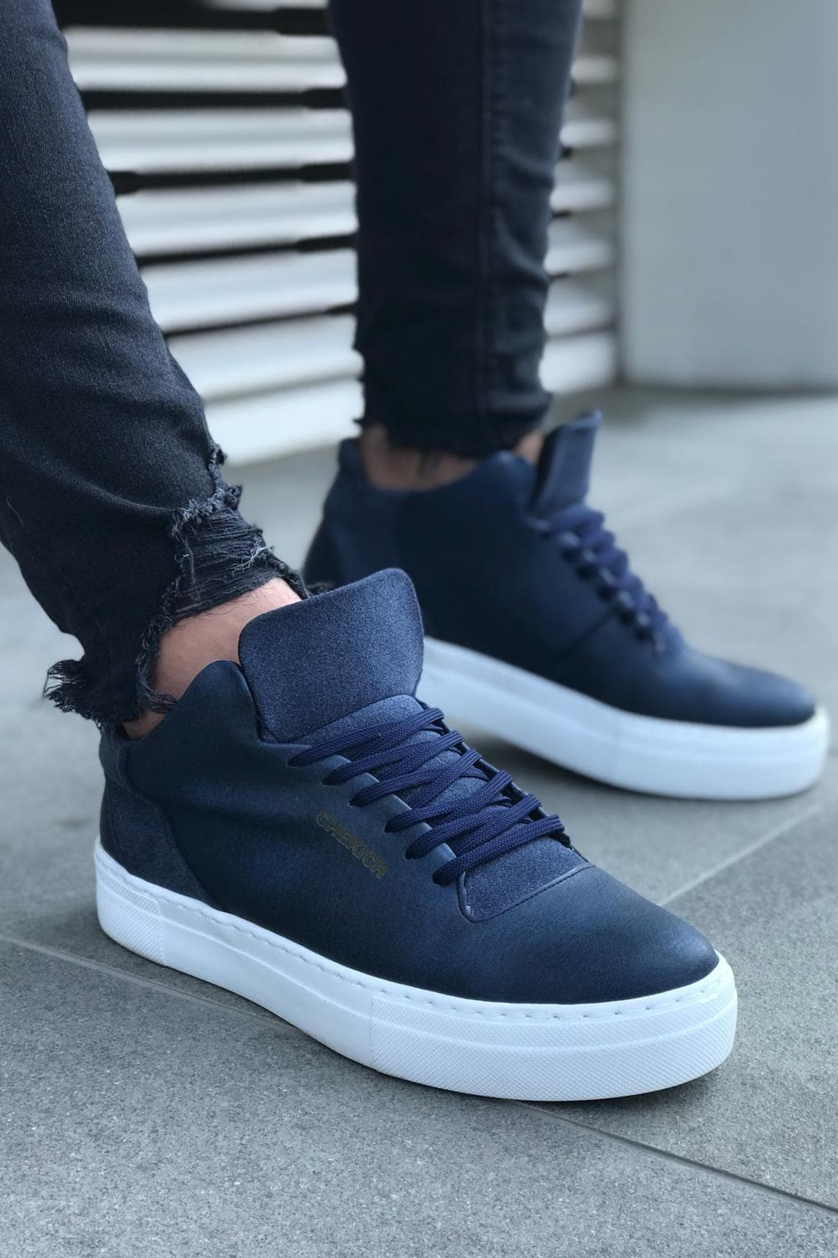 Chekich Lacivert Erkek Sneaker CH004 1