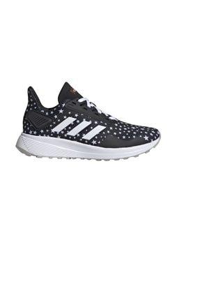 adidas Siyah Beyaz Gri Günlük Ayakkabı Duramo 9 K