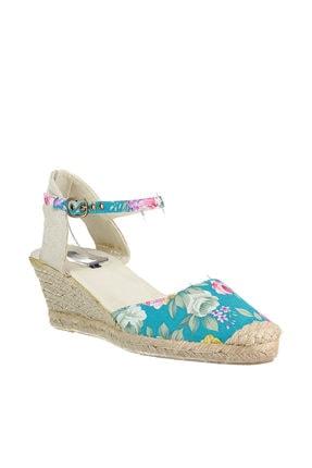İnci Mavi Kadın Sandalet 120116014809