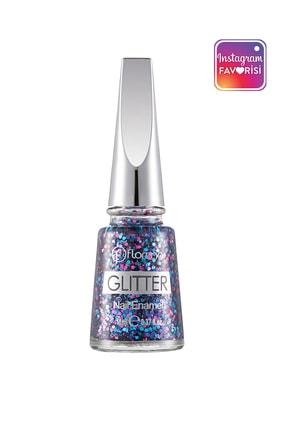 Flormar Oje - Glitter Nail Enamel L09 White Pearl 8690604195749