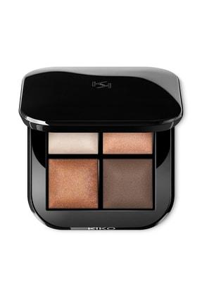 KIKO 4'lü Göz Farı Paleti - Bright Quartet Baked Eyeshadow Palette 02 Rosy Mauve Variations 8025272627832