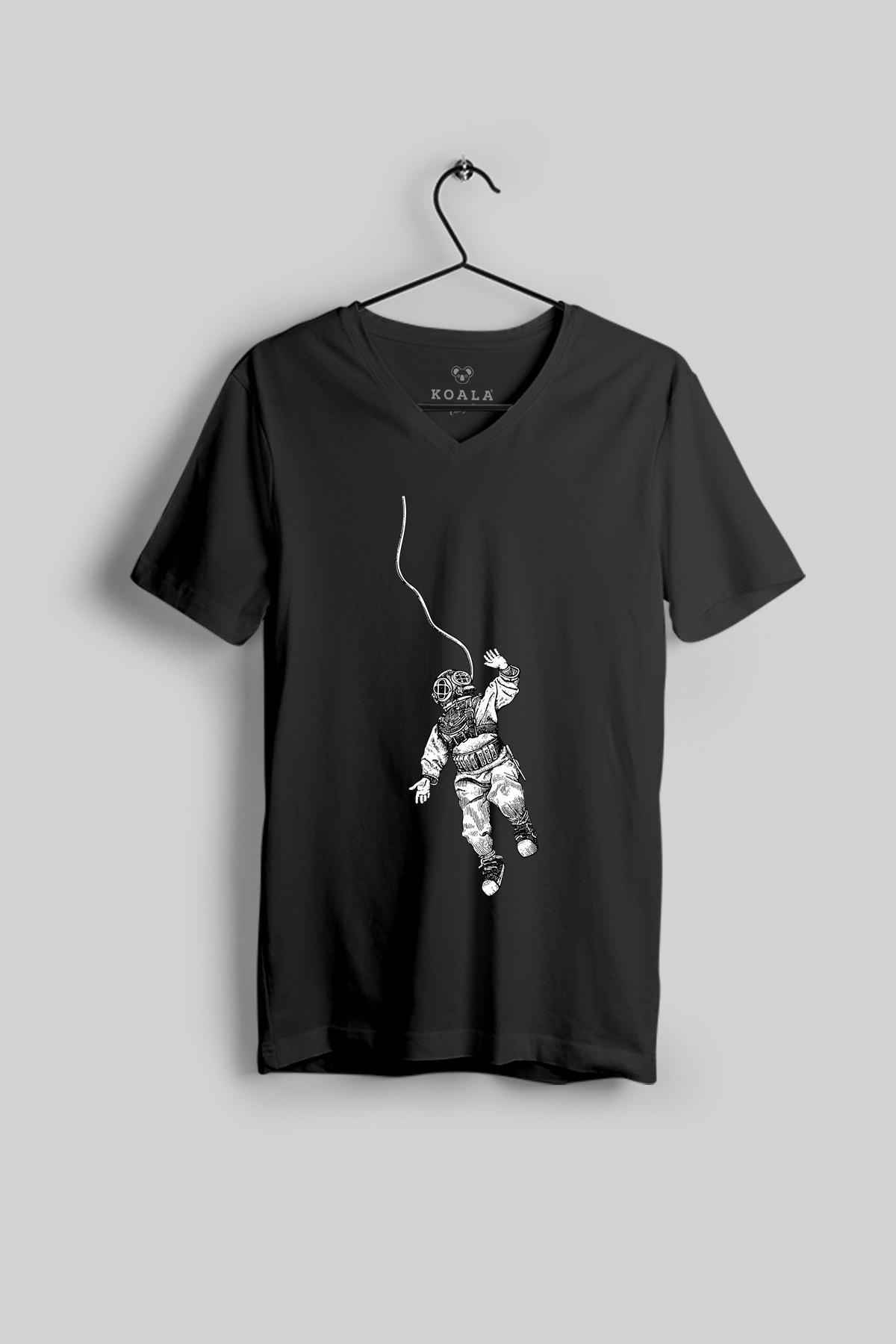 Koala Kadın Siyah T-Shirt UKT002VYSUOMO 2