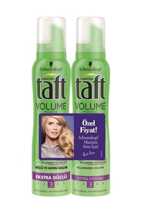 Taft Saç Köpüğü Dolgunlaştırıcı Ve Besleyici Bakım Ekstra güçlü-3 150Ml 2 Adet
