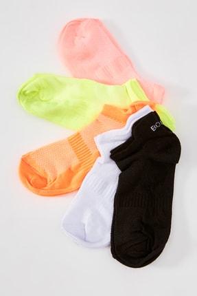 TRENDYOLMİLLA 5'li Spor Örme Çorap TWOAW20CO0011